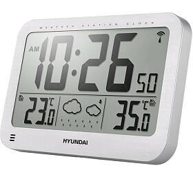 Hyundai WS 2331, velké hodiny, stříbrná