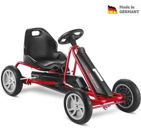 PUKY Go Cart F 20 černo/červená