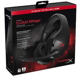 HyperX Cloud Stinger -černý/červený