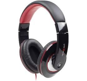 Sluchátka smik Gembird BOSTON MHS-BOS, černo-červená