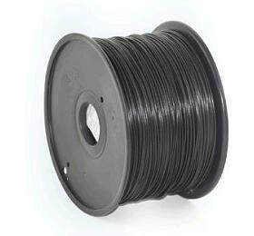 Tisková struna GEMBIRD, ABS, 1,75mm, 1kg, černá