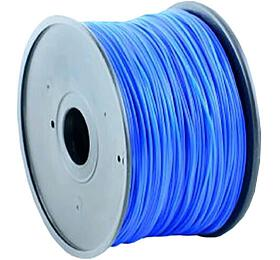 Tisková struna GEMBIRD, ABS, 1,75mm, 1kg, modrá