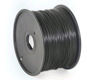 Tisková struna GEMBIRD, PLA, 1,75mm, 1kg, černá