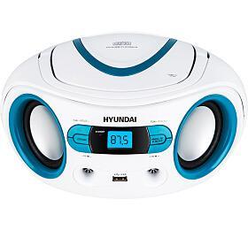 Hyundai TRC 533 AU3WBL sCD/MP3/USB, bílá/modrá