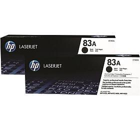HP tisková kazeta černá, CF283AD -2 pack