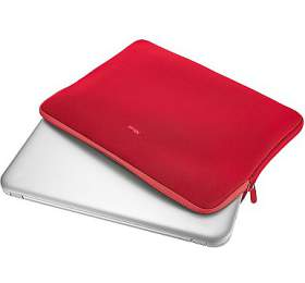 """TRUST Primo Soft Sleeve for 17.3"""" laptops -red"""