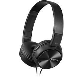 SONY sluchátka MDR-ZX110 sNoise canceling, černé