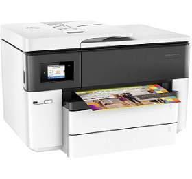 Tiskárna multifunkční HP Officejet Pro 7740 A3, 22str./min, 18str./min, 1200 x 1200, 512 MB, automatický duplex, WF, USB