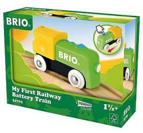 Moje první elektrická mašinka BRIO