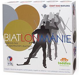 Biatlonmánie společenská hra vkrabici 29x35x7,5cm