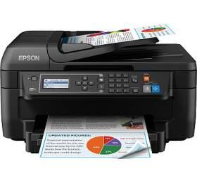 Epson WorkForce WF-2750DWF A4, 13str./min, 7str./min, 5760 x 1440, automatický duplex, WF, USB - černá