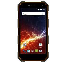 myPhone HAMMER ENERGY Dual SIM, LTE -černý/oranžový