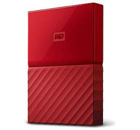 "HDD ext. 2,5"" Western Digital My Passport 1TB - červený"