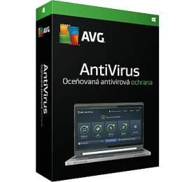 AVG Anti-Virus 2016, 1lic. -krabicová licence