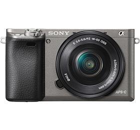 Sony A6000L, 16-50mm, 24,3Mpix, grafitová