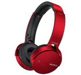 Sony MDR-XB650BT - červená