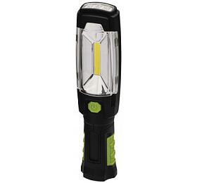 COB LED +LED nabíjecí prac. svítilna P4518, 280 lm,2500 mAh