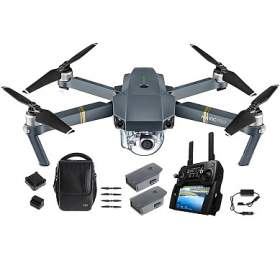 DJI kvadrokoptéra -dron, Mavic Pro Fly More Combo, 4Kkamera