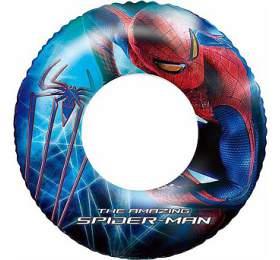 Nafukovací kruh - Spiderman, průměr 56 cm Bestway