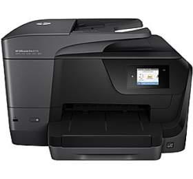 Tiskárna multifunkční HP Officejet Pro 8710 A4, 22str./min, 18str./min, 1200 x 1200, 128 MB, automatický duplex, WF, USB - černá