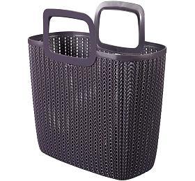 Knit nákupní taška fialová CURVER