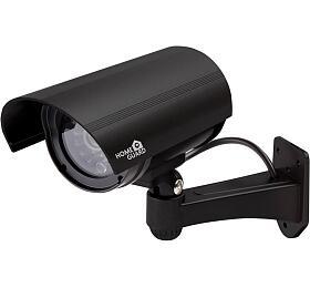 iGET HGDOA5666 -atrapa/maketa bezpečnostní CCTV kamery, blikající črv. LED,4x nálepka CCTV varování