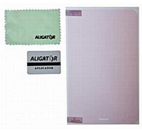 """Aligator ochranná fólie na displej pro tablety 10,2 """", transparentní, univerzální s mřížkou, 1 ks + aplikátor"""