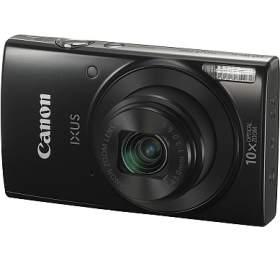 Canon IXUS 190, 20MPix, 10x zoom, Wi-Fi, NFC -černý