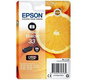 Epson Singlepack Photo Black 33 Claria Premium Ink