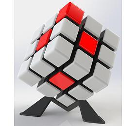 Rubikova kostka hlavolam 9x9x9cm plast 6her nabaterie sezvukem sesvětlem vkrabici