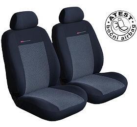 Autopotahy Seat Alhambra II, od r. 2010, 7 míst, dětská sedačka, šedo černé SIXTOL