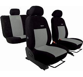 Autopotahy Ford C-MAX, odr. 2003-2010, 5míst, ELEGANCE ALCANTARA černošedé SIXTOL