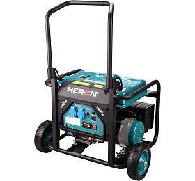 Elektrocentrála benzínová 7,5HP/3,5kW, HERON, 8896140, záruka 3roky