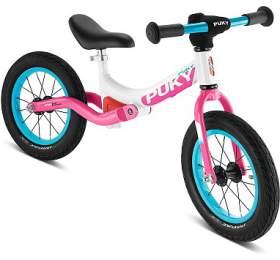 PUKY LR Ride bílo-růžové