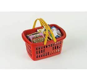 Nákupní košík smaketami potravin
