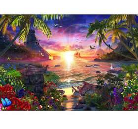 Západ slunce: Lassen 18000d