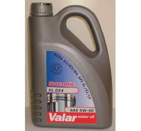 Valar Dynamic XL 054 5W-40, 4l