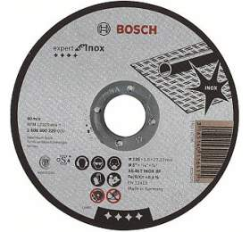 Dělicí kotouč rovný Expert for Inox - AS 46 T INOX BF, 125 mm, 1,6 mm - 3165140116411 BOSCH