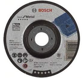 Hrubovací kotouč profilovaný Best for Metal -A 2430 TBF, 125 mm, 7,0 mm- 3165140733854 BOSCH