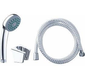 Sada sprchová malá, 1funkční hlavice, držák nasprchu, hadice 150cm VIKING