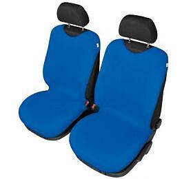 Autopotahy Tričko BAVLA napřední sedadla -světlé modré SIXTOL