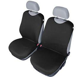 Autopotahy Tričko BAVLA na přední sedadla - černé SIXTOL
