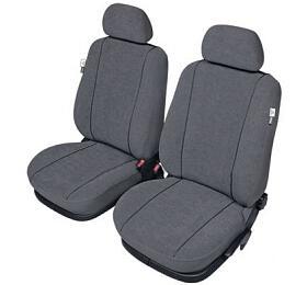 Autopotahy ELEGANCE na přední sedadla, šedé SIXTOL