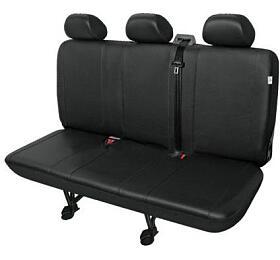 Autopotahy PRACTICAL DVdodávka -3 sedadla, černé SIXTOL