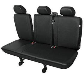 Autopotahy PRACTICAL DVdodávka -3 sedadla rozdělená, černé SIXTOL