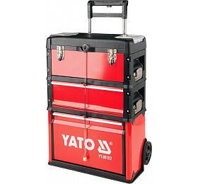 Vozík na nářadí, 3 sekce, 1 zásuvka, YATO-09102