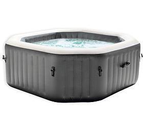 Marimex bazén vířivý nafukovací Pure Spa - Bubble HWS čtverec - NOVĚ V ANTRACITOVÉ BARVĚ
