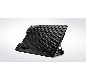 Cooler Master ERGOSTAND III, nastavitelná chladící podložka pod notebook, USB, 230 mm, černá