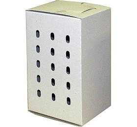 Transp. Krabička menší bílá 14x 8,5 x8 cm