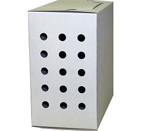 Transp. Krabička střední bílá 18,5 x15 x11 cm